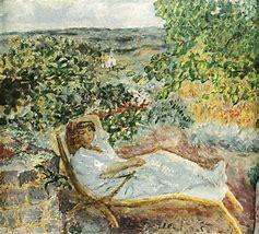 La sieste au jardin - P.Bonnard 1914